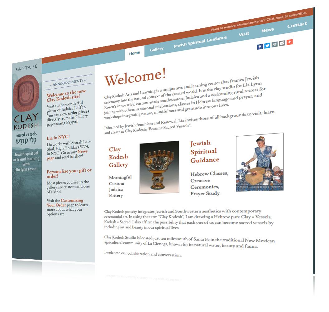 Client-Website-ClayKodesh